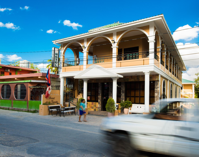 Hotel de la Fuente's main compound.