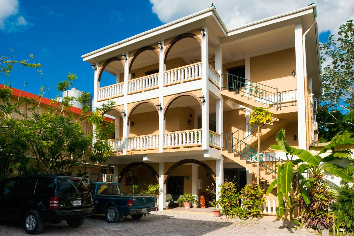 Hotel de la Fuente's East Wing.